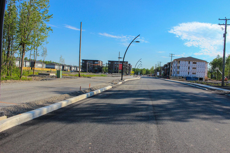 Route asphaltée - DMI La Prairie